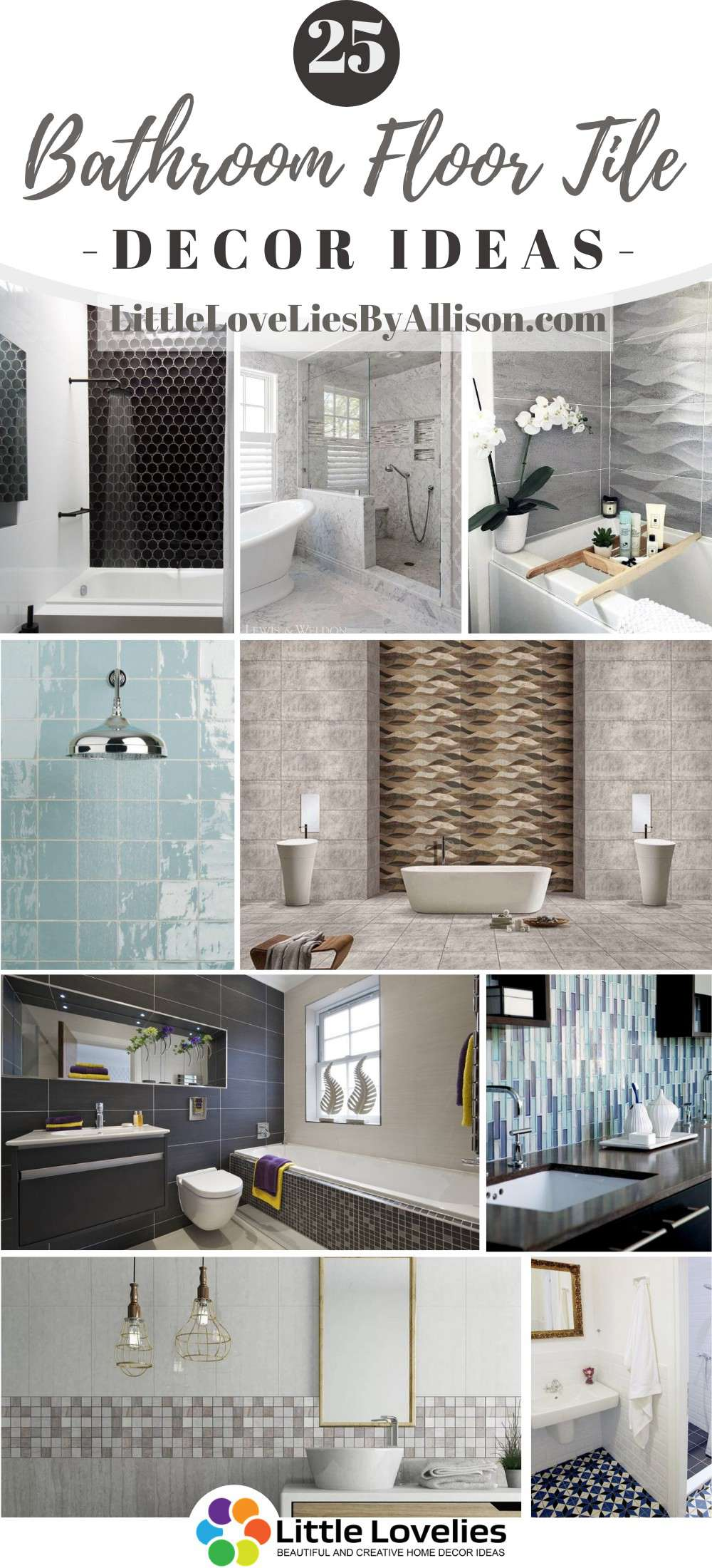 25 Bathroom Floor Tile Ideas To Revolutionize Your Bathing Space