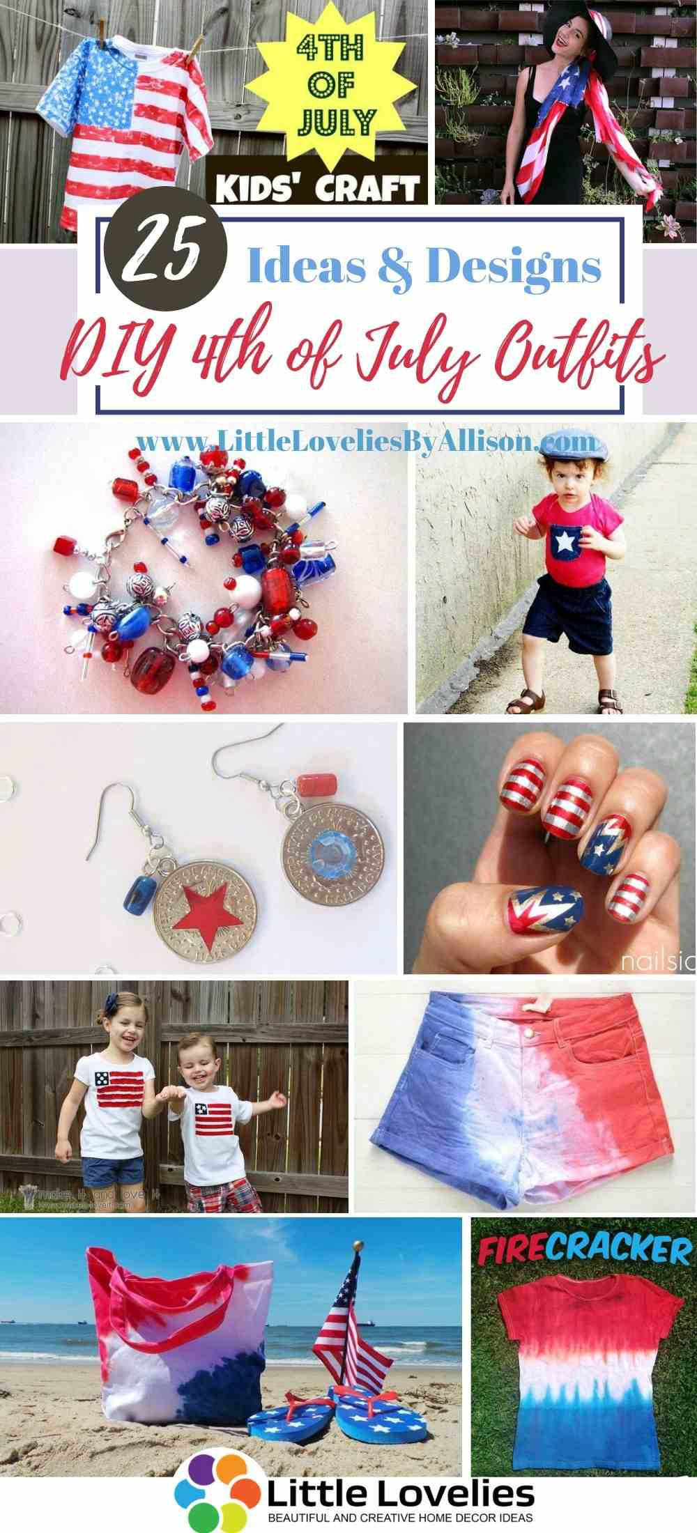 25 Diy 4th Of July Outfits How To Make Fourth Of July Outfits