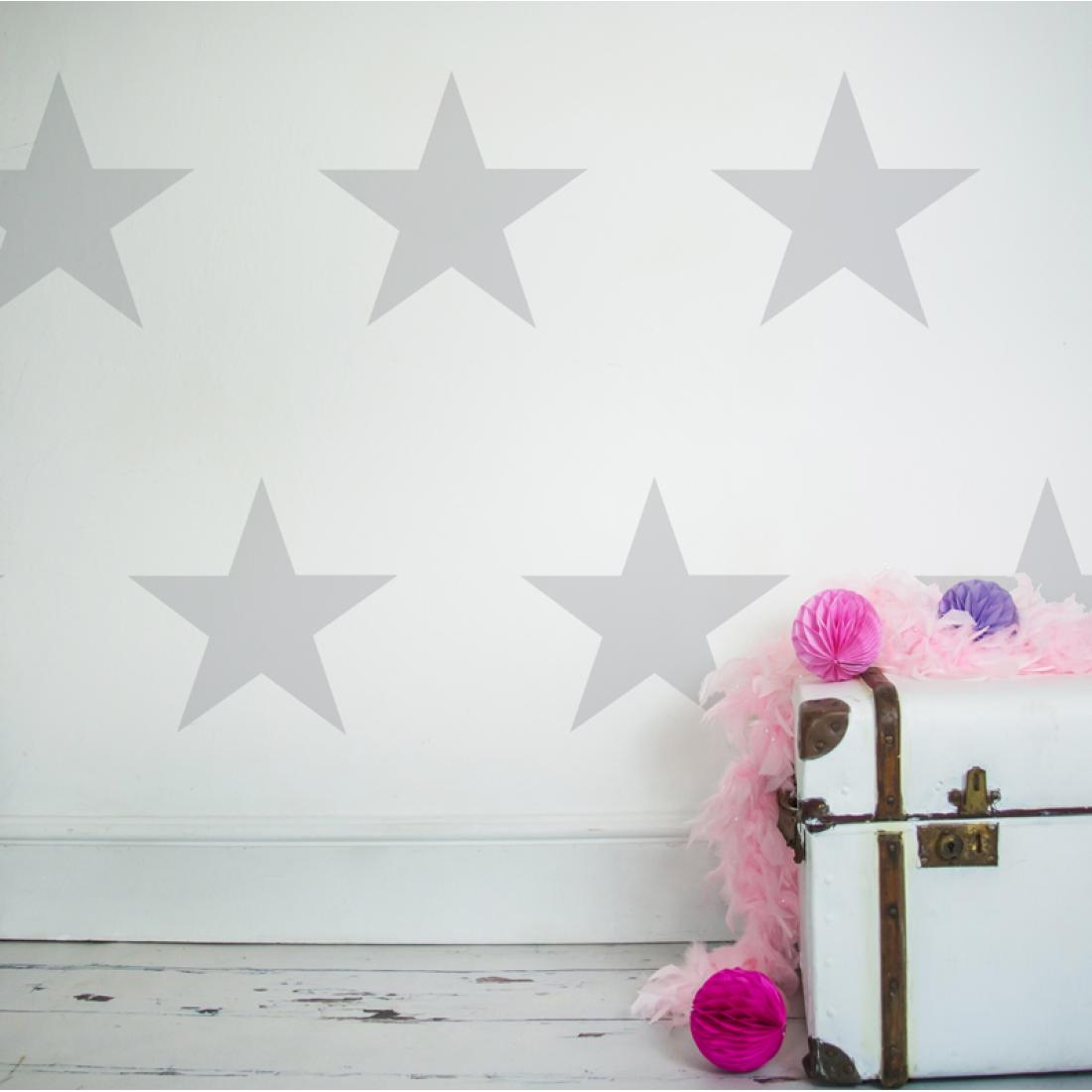 Decorative Wall Stickers Large Stars Decorative Wall Stickers