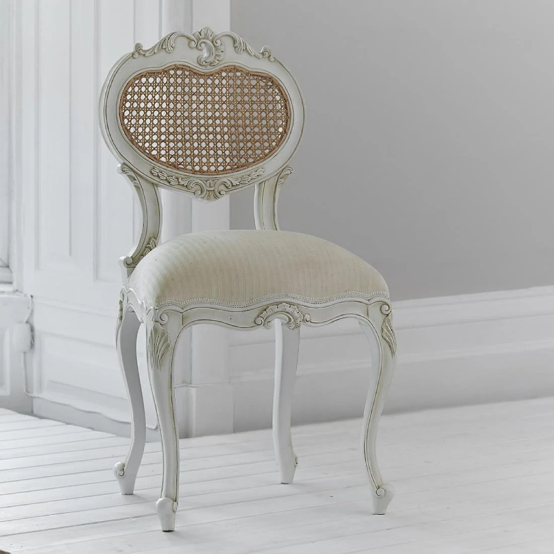 Upholstered Children's Chairs Tilly Rattan Dressing Table Chair