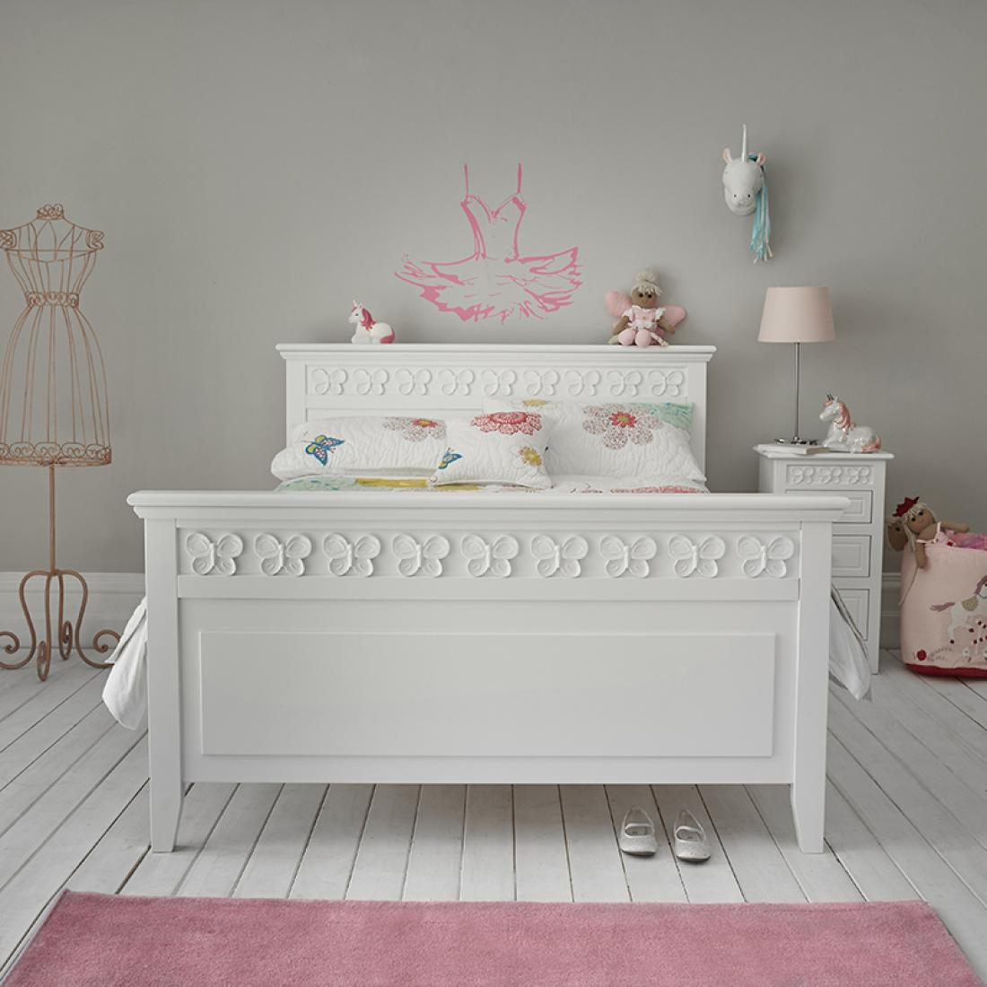 Double Beds Florence Flutterby Double Bed Childrens Double Bed Kids Double
