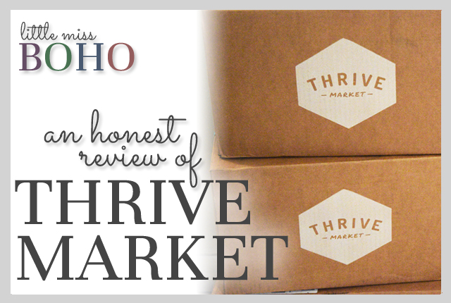 Thrive Market Review Post Image