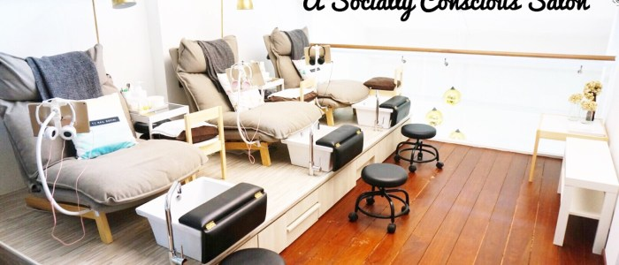 THE NAIL SOCIAL: A SOCIALLY CONSCIOUS SALON