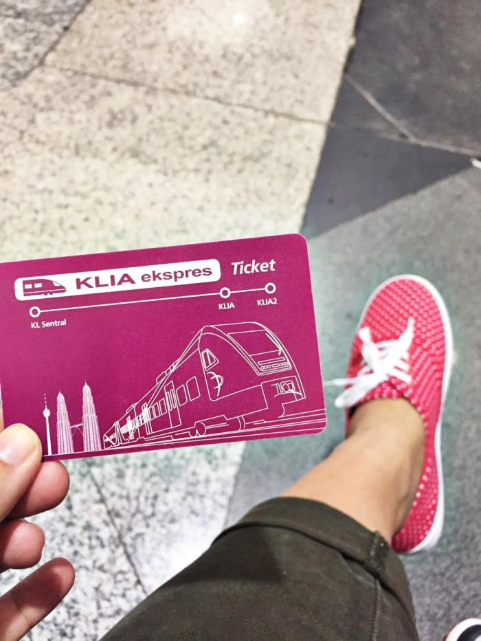 KLIA express card