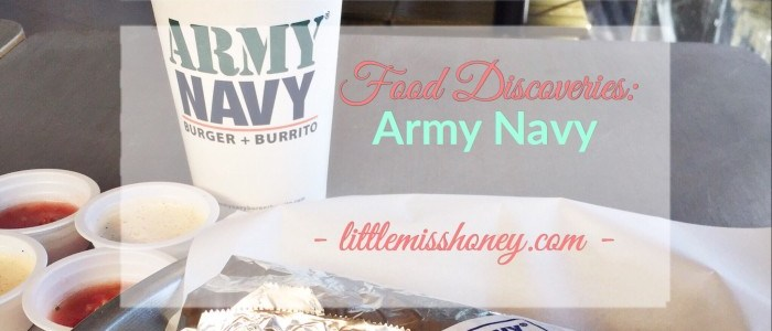 FOOD DISCOVERIES: ARMY NAVY