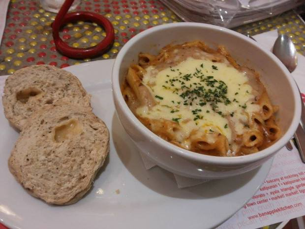 Baked Creamy Cheese Penne P200