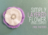 Simply Layered Embellishment Flower