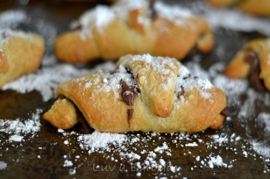 Nutella Crescent Rolls  |  Off the Hook Monday