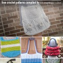 Free Bag, Purse and Tote Crochet Patterns  |  Roundup by Little Monkeys Crochet