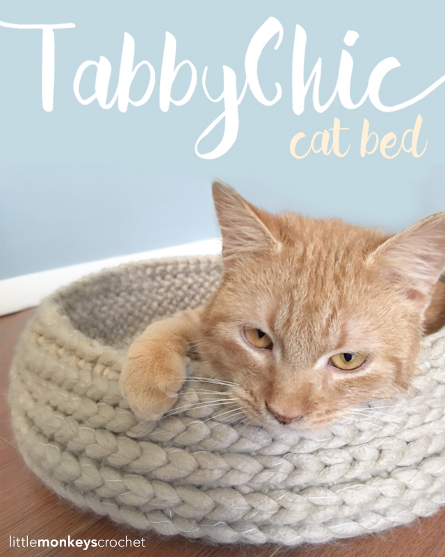 Tabby Chic Cat Bed with GIVEAWAY!