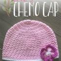 Barb's Chemo Cap Crochet Pattern  |  Free chemo hat crochet pattern by Little Monkeys Crochet