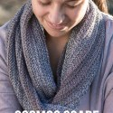 Cosmos Scarf Crochet Pattern  |  Free infinity scarf crochet pattern by Little Monkeys Crochet