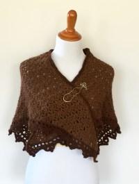 Triangle Shawl Crochet pattern by Little Monkey's Designs