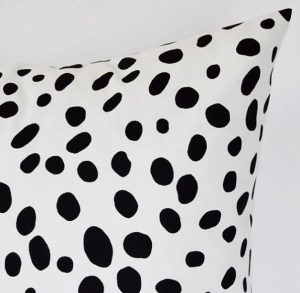 Dalmatian pillow covers/Blossom Pillow Co on Etsy