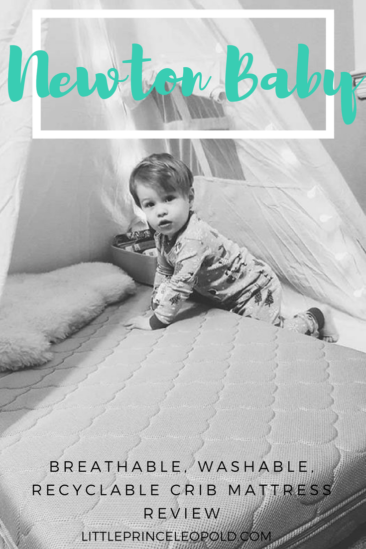 Newton Breathable Mattress Reviews Newton Baby Breathable Crib Mattress Review Little Prince Leopold