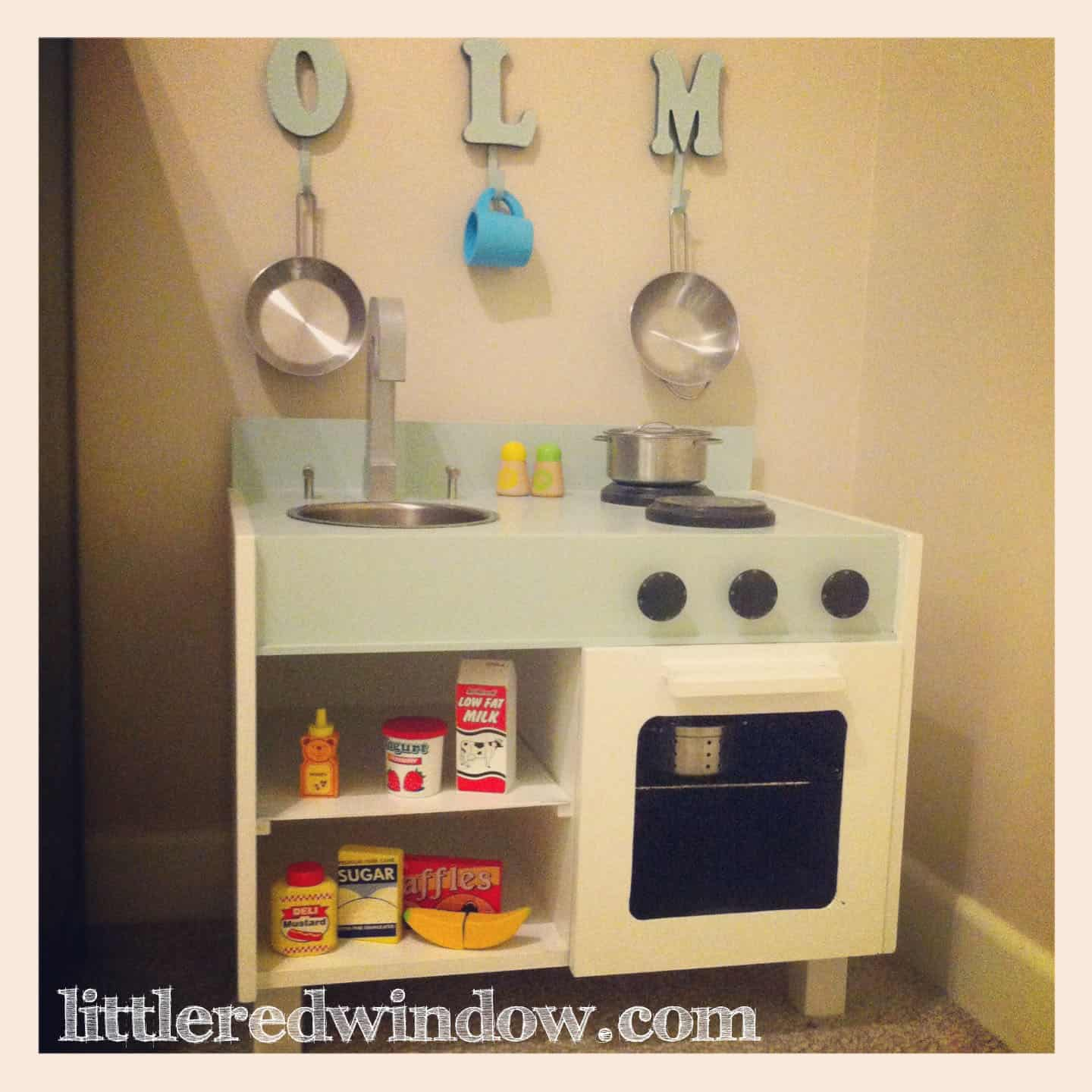 Complete Kinderkamer Ikea An Ikea Hack Play Kitchen For O Little Red Window