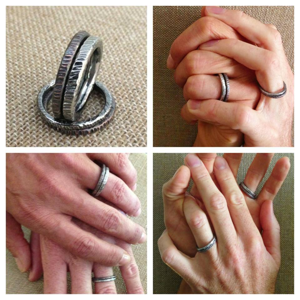 unisex wedding rings unisex wedding bands Unisex wedding rings Wedding set hands