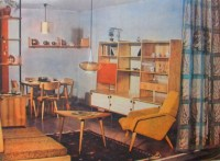 1960s Soviet Living Room Interiors | LittleRetronome