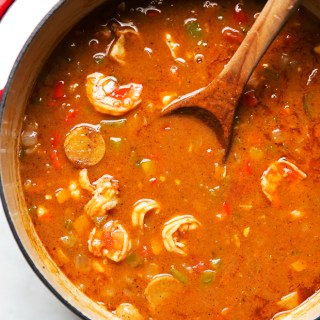 New-Orleans-Gumbo-with-Shrimp-and-Sausage-(4)