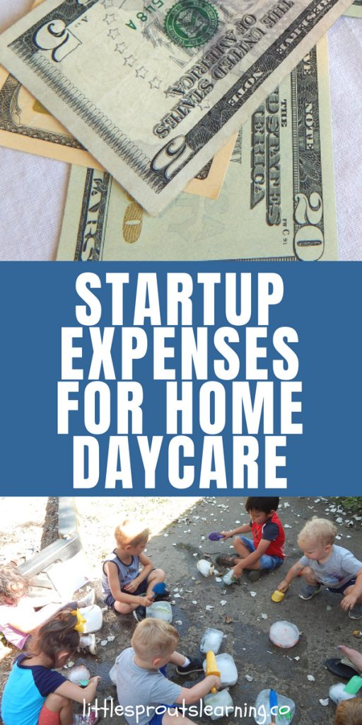 Start Up Expenses for Home Daycare - startup expenses