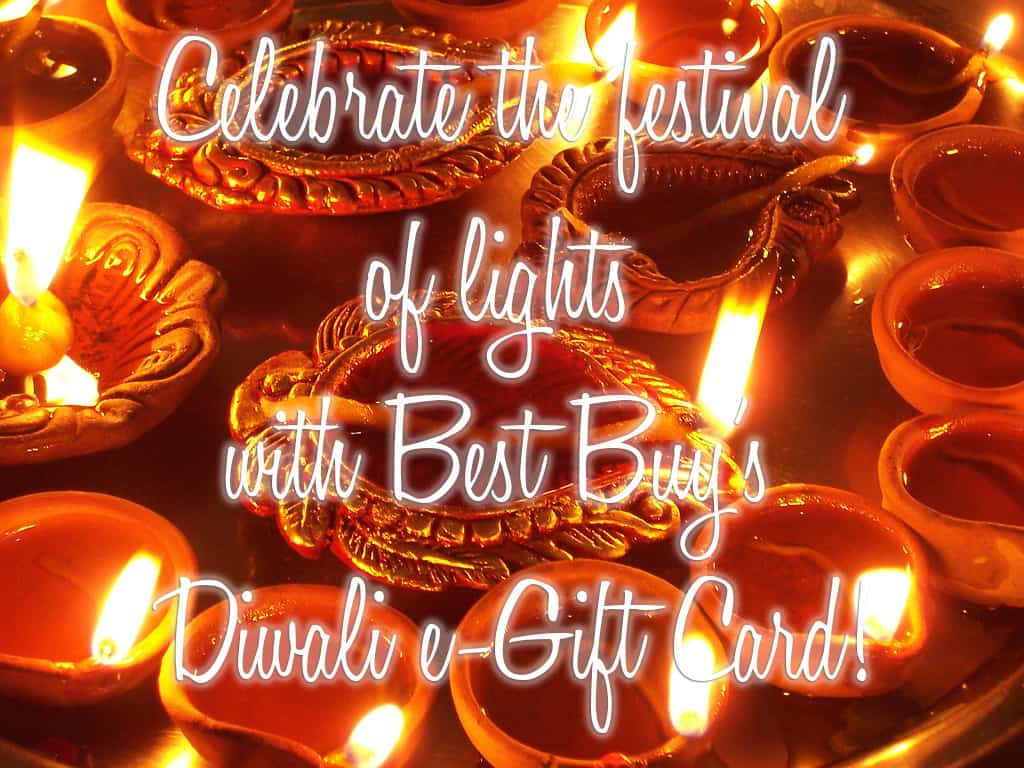 Celebrate the Festival of Lights with Best Buy's Diwali e-Gift Card!