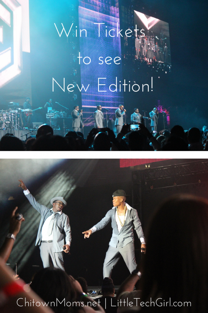 In the Chicago Area? Win 2 Tickets to See New Edition!