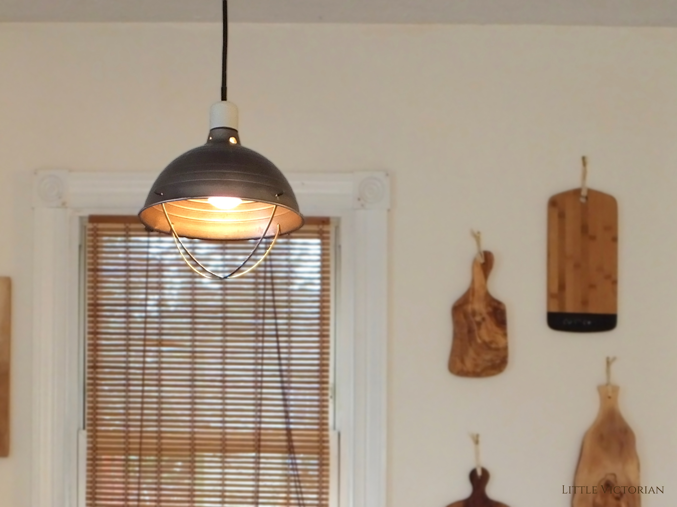 Kitchen Ceiling Fan Cheap Industrial Lighting To Replace An Ugly Ceiling Fan A 21 Diy