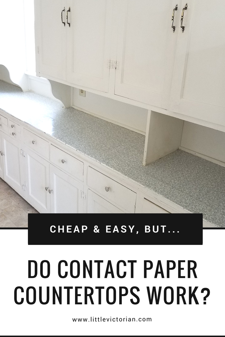 Contact Paper For Furniture Can You Really Put Contact Paper On Countertops Little Victorian