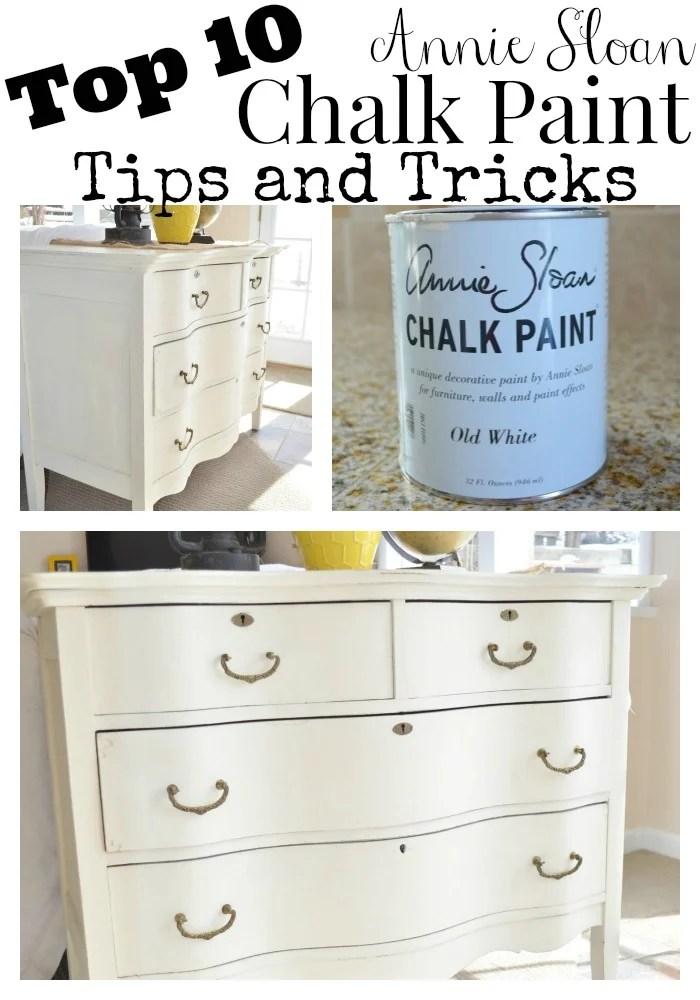 My Top 10 Chalk Painting Tips & Tricks - Little Vintage Nest