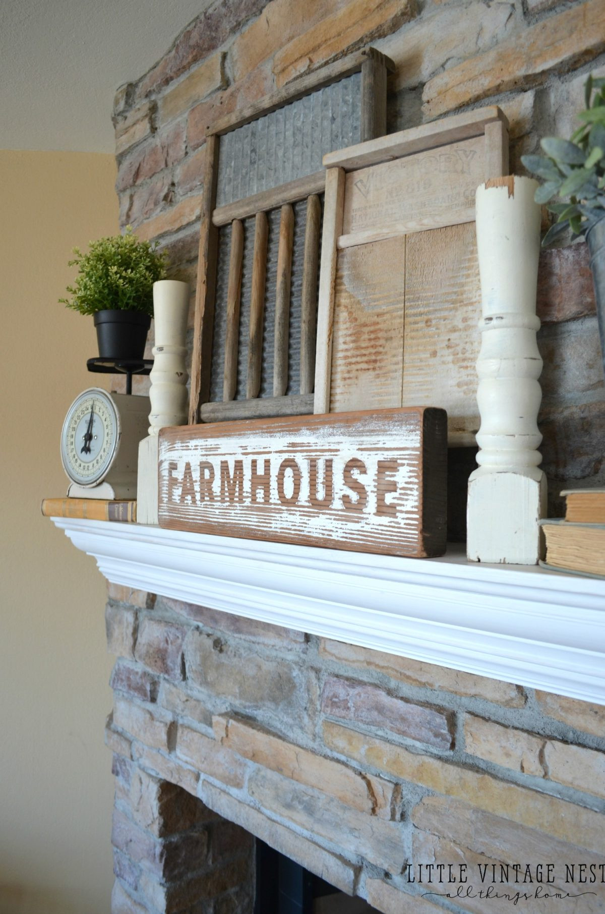 Old Farmhouse Fireplaces 10 Ways To Get Farmhouse Style In Your Home