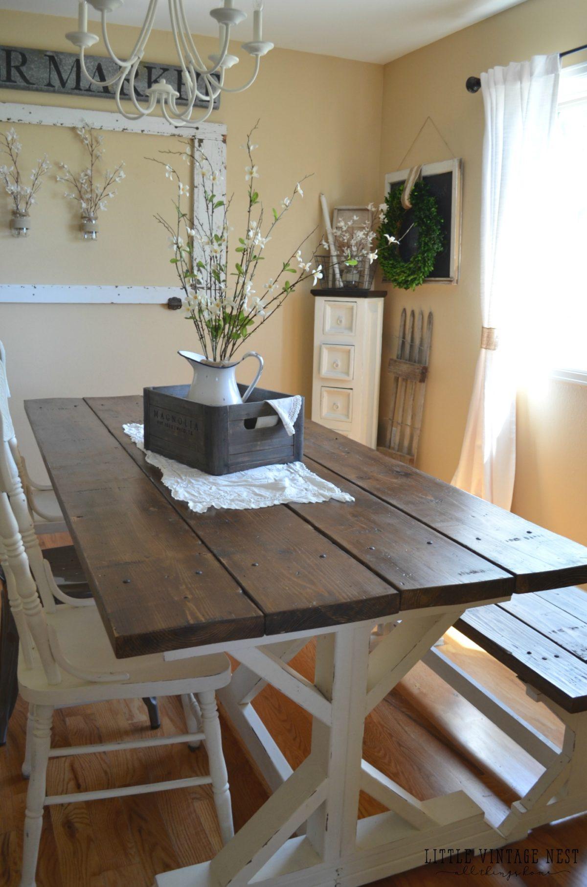 Farmhouse Dining Room Storage Cabinet