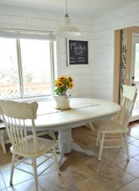Chalk Paint Dining Table Makeover - Little Vintage Nest
