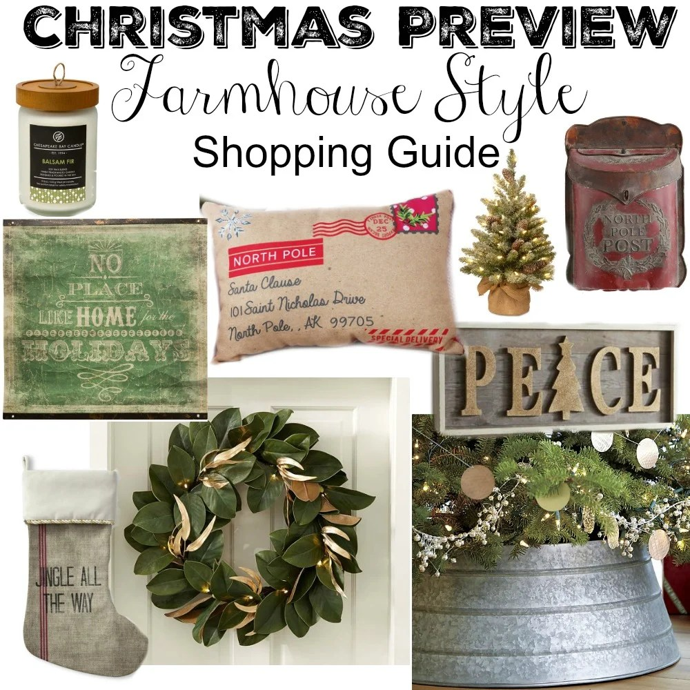 Fullsize Of Farmhouse Christmas Decor