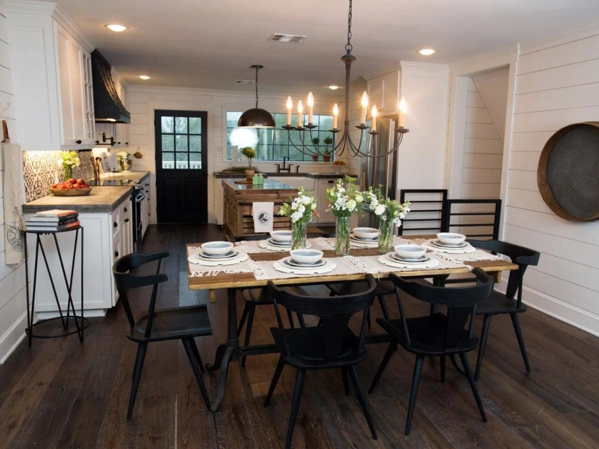 Joanna Gaines Farmhouse Dining Room Favorite Fixer Upper Dining Rooms