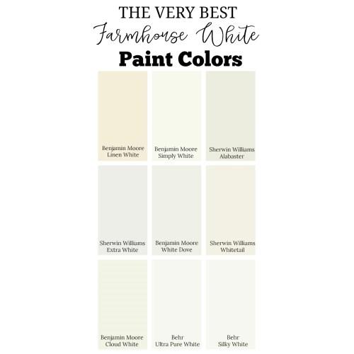 Medium Crop Of Farmhouse Paint Colors