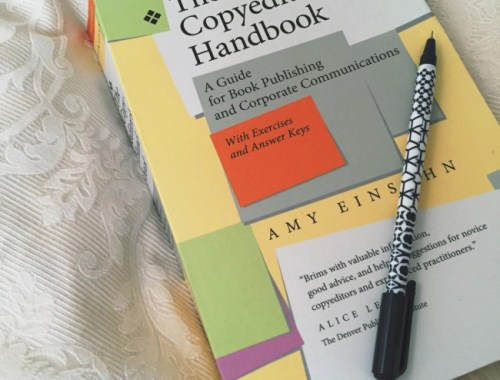 Copyediting and Publishing Textbook with Pen