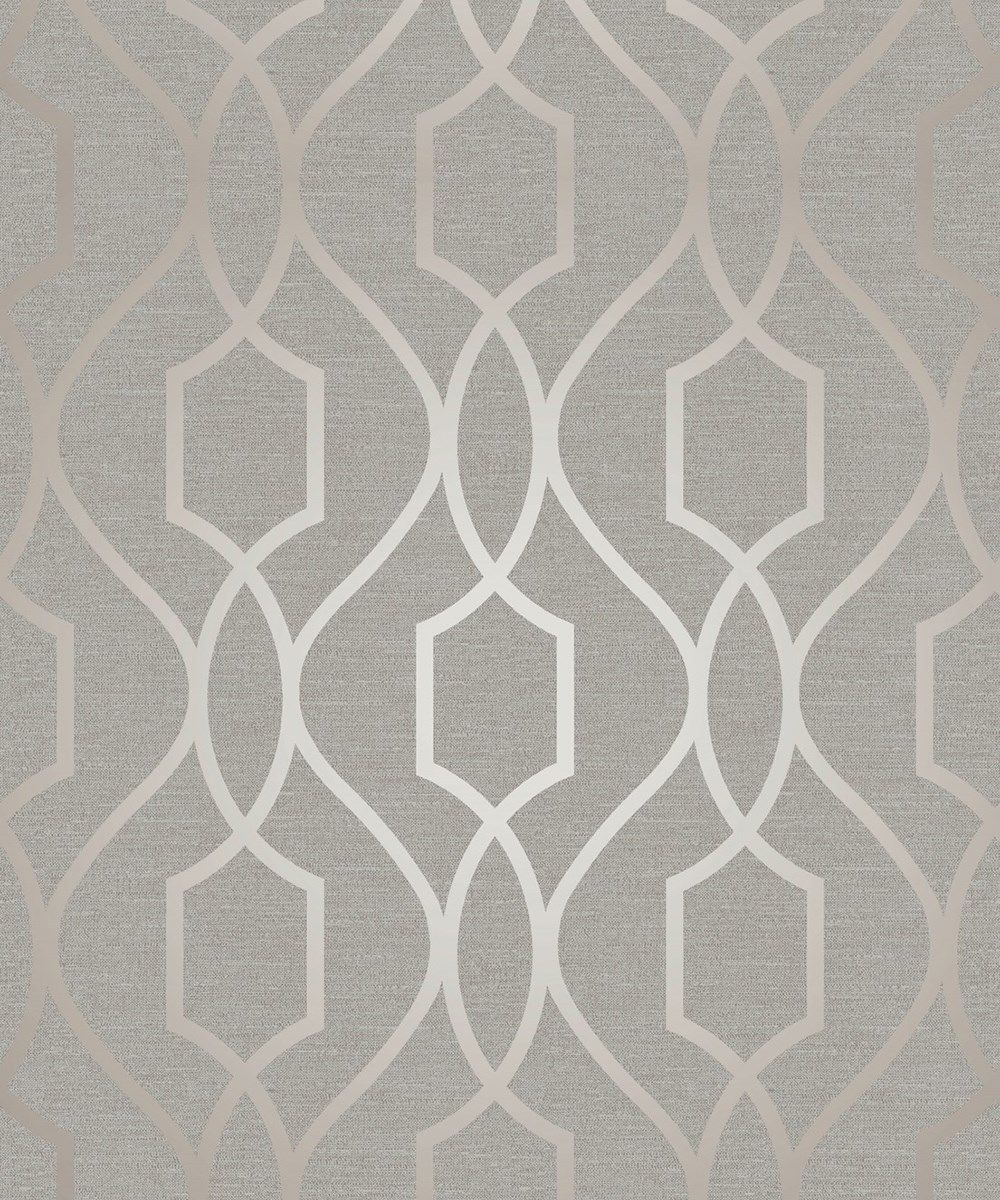 Metallic Gold Wallpaper Finedecor Apex Trellis Geometric Metallic Gold Taupe Grey Wallpaper Fd41997