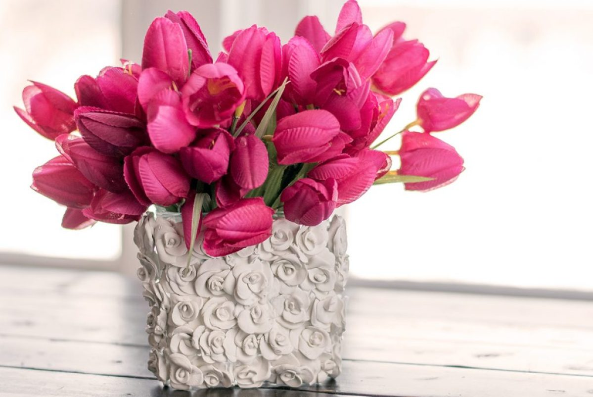 Beautiful Flower Vases How To Make Beautiful Clay Craft Flower Vases With This