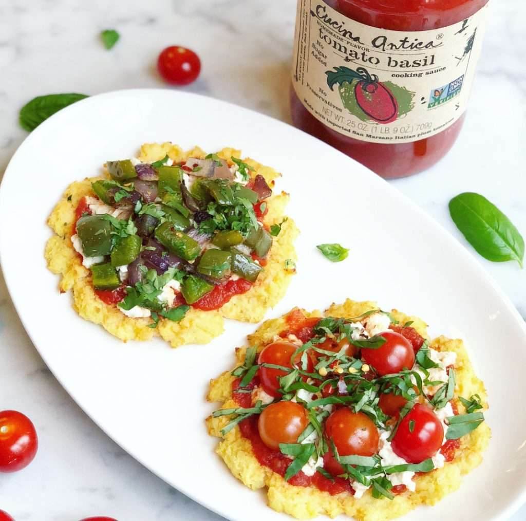 Cucina Antica Gluten Free Mini Cauliflower Pizzas Livlight With Laurie Lloyd