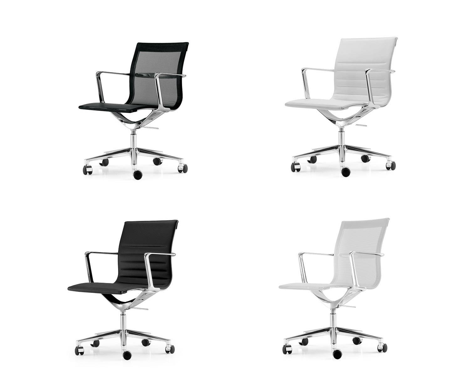 Management Sessel Icf Una Chair Management Design Bürostuhl Aluminium