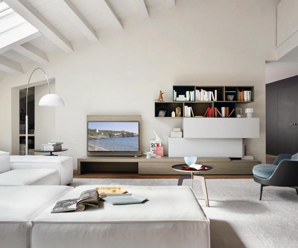 Tv Mobel Design Italien Design Hochkommode Ohne Griffe Livitalia Cap