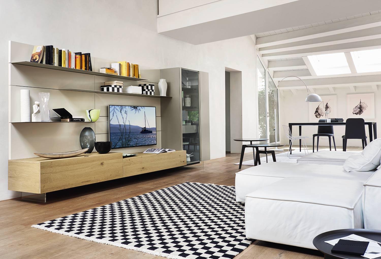 Wohnzimmer Im Landhausstil Unterschiedliche Schiebeturen