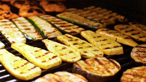 Zucchini and eggplant love a good grilling
