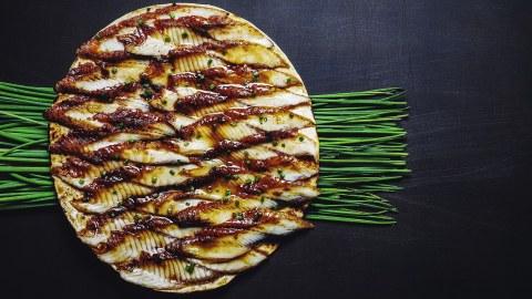 Eel tortilla at Moscow's Chicha