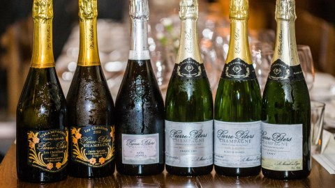 Think you know champagnes? Here's our guide to our favorite sparkling wine. (Photo: Wein & Vin/Facebook.)