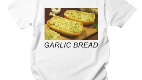 garlic bread shirt