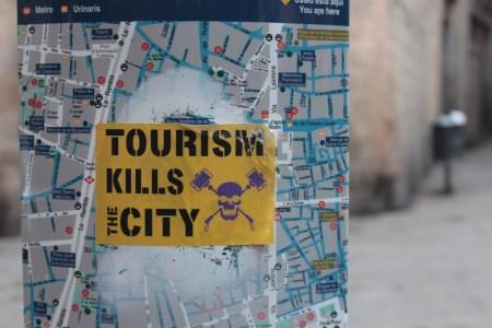 TOURISM KILLS THE CITY