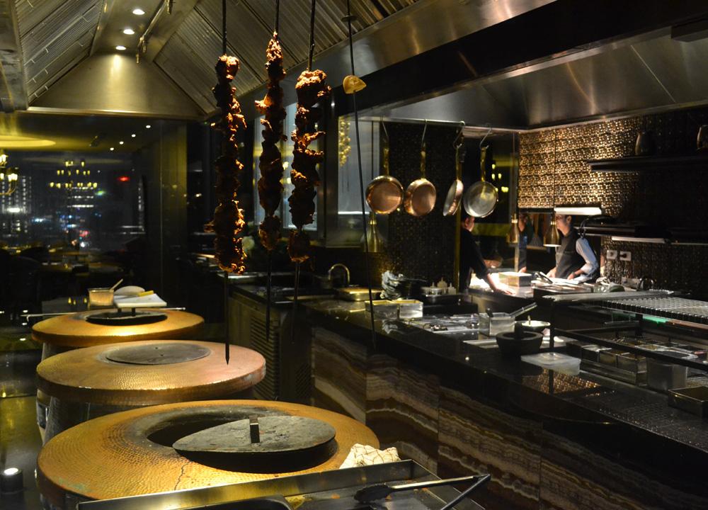 open kitchen design tandoor ovens chef inspirations indian restaurant kitchen design couchable