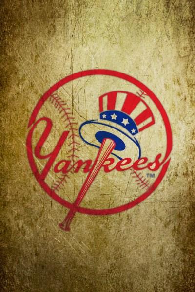 New York Yankees Logo iphone 4S wallpaper 640x960 | iPhone 4s Wallpapers. iPhone 3Gs Wallpapers ...