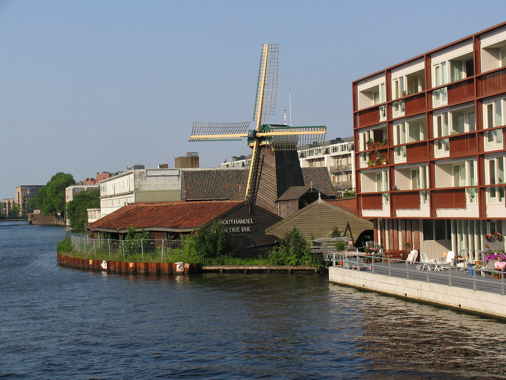 Houthandel Amsterdam West De Otter Timber Mill In Amsterdam Inside The City Is An Flickr